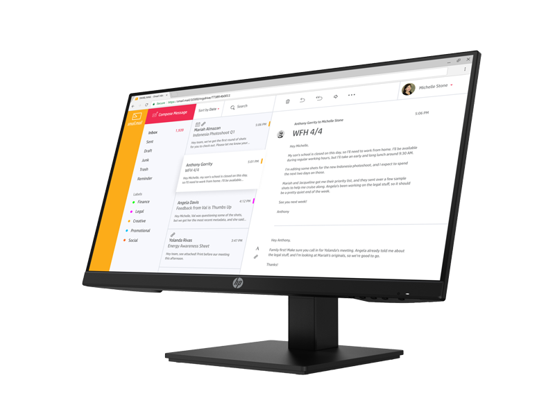 HP P24h G4 FHD Monitor 5