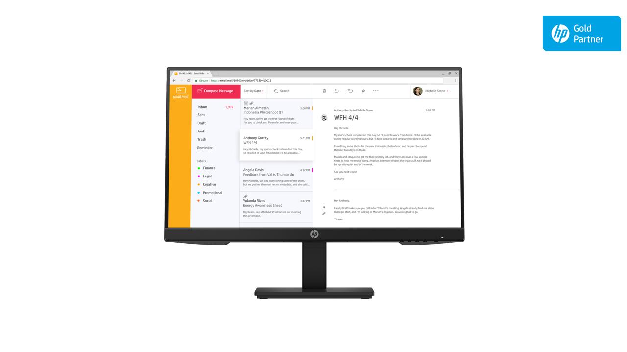 HP P24h G4 FHD Monitor 1