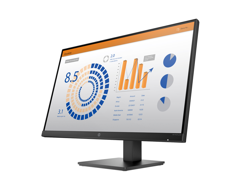 HP P27q G4 QHD Monitor 6
