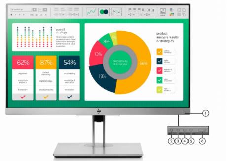 HP EliteDisplay E223 21.5 Inch Monitor 3