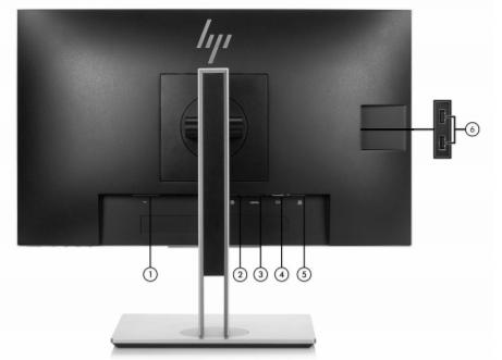 HP EliteDisplay E243 23.8 Inch FHD Monitor 4