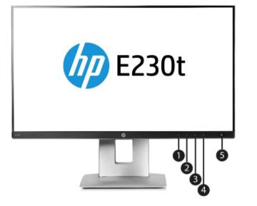 HP EliteDisplay E230t 23-inch Touch Monitor 3
