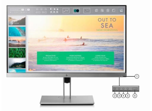 HP EliteDisplay E233 23 Inch Monitor 3