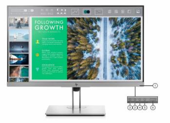 HP EliteDisplay E243 23.8 Inch FHD Monitor 3