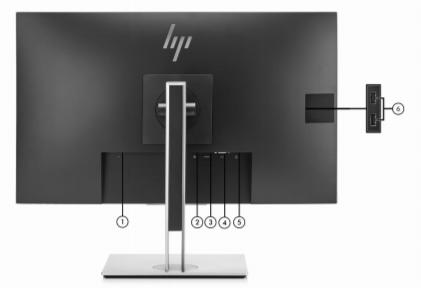 HP EliteDisplay E273 27- inch Monitor 4