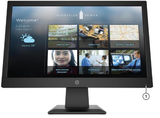 HP P19b G4 WXGA Monitor 3