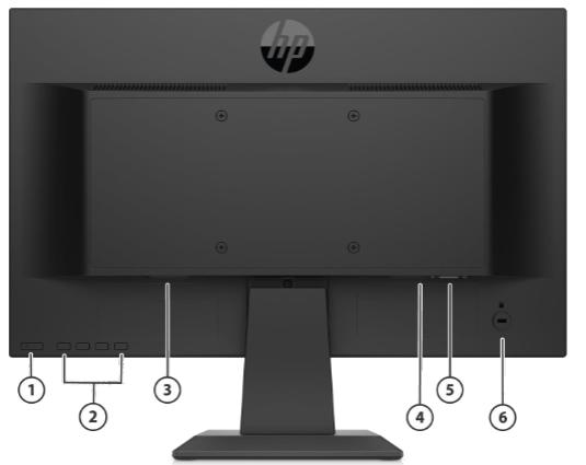 HP P19b G4 WXGA Monitor 4