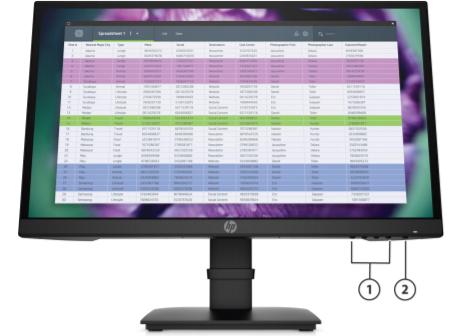 HP P22 G4 FHD Monitor 3