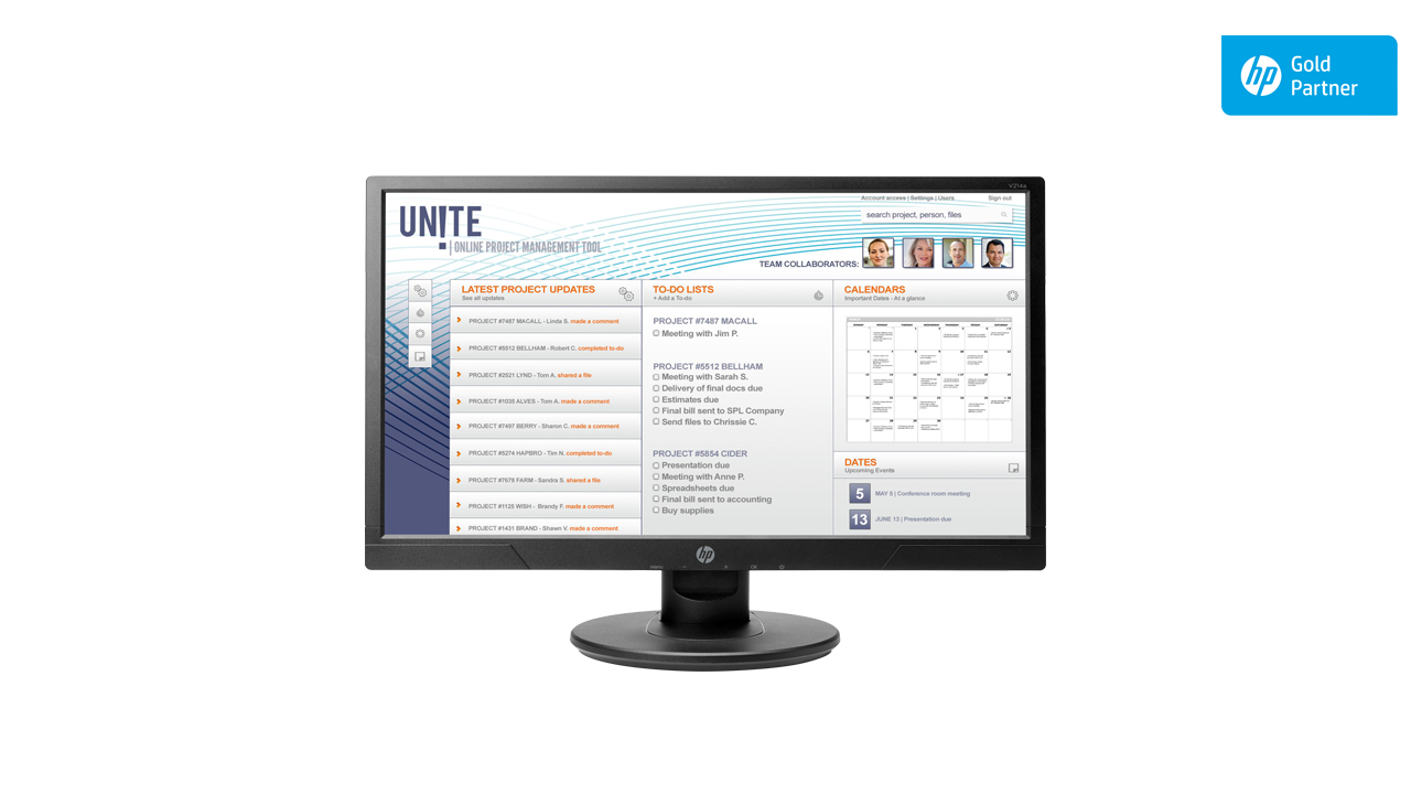 HP V214a 20.7-inch FHD Monitor 1