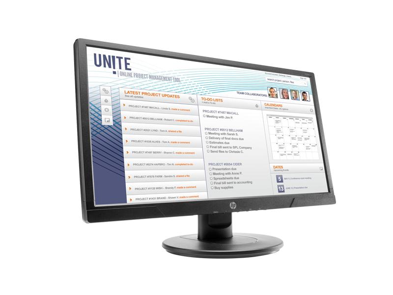 HP V214a 20.7-inch FHD Monitor 6
