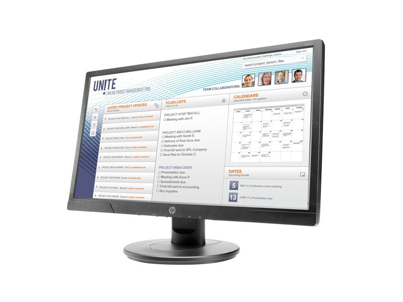HP V214a 20.7-inch FHD Monitor 5