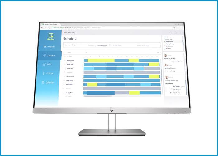 HP E27d G4 QHD Advanced Docking Monitor 24