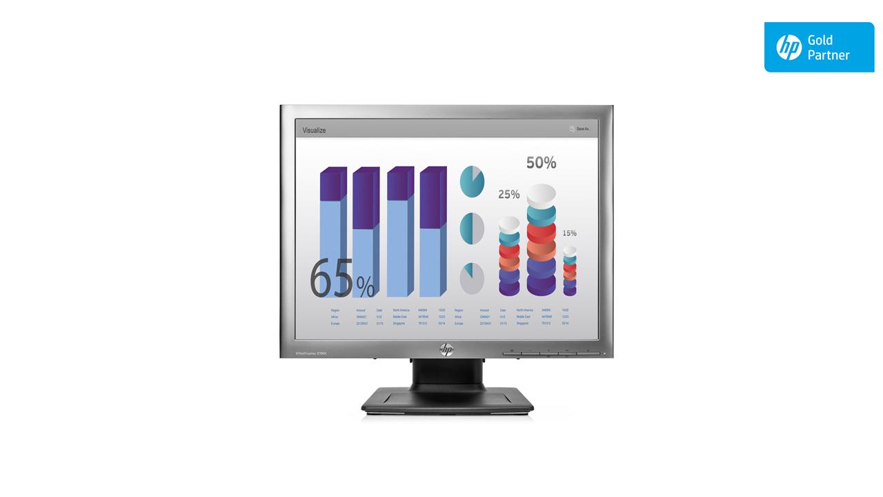 HP EliteDisplay E190i 19-inch Square Monitor 1