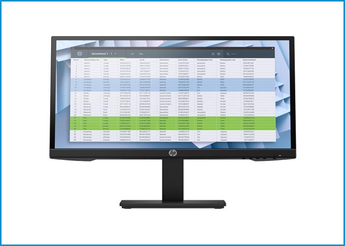 HP P22 G4 FHD Monitor 20