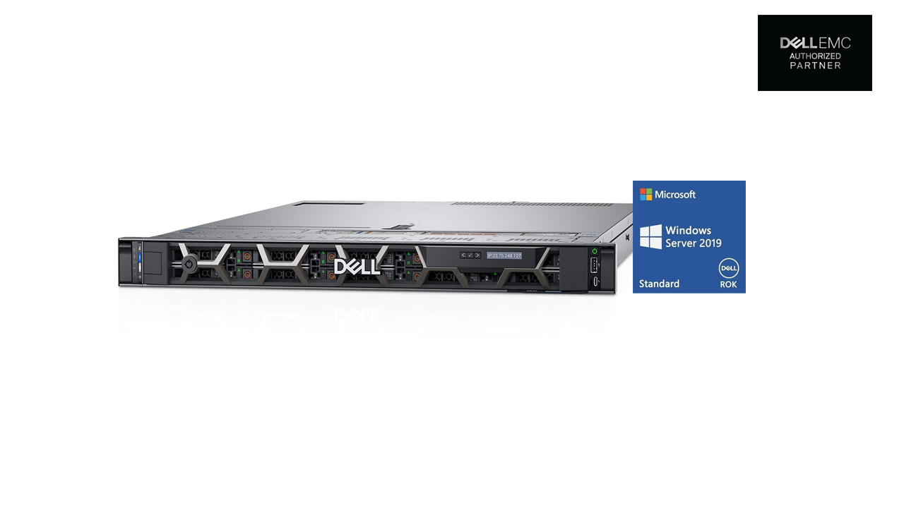 Dell PowerEdge R440 Server Bundled with Dell Win Server 2019 ROK 1