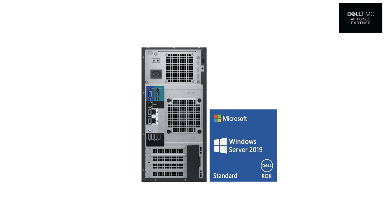 Dell PowerEdge T140 Server Bundled with Dell Win Server 2019 ROK 2