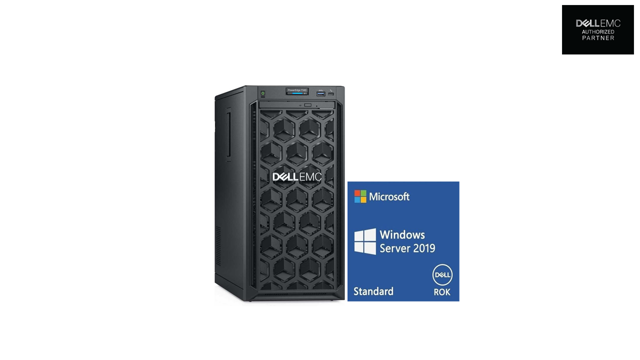 Dell PowerEdge T140 Server Bundled with Dell Win Server 2019 ROK 1