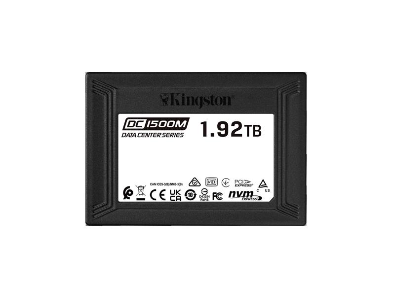 Kingston U.2 NVMe SSD 2.5'' DC1500M 3