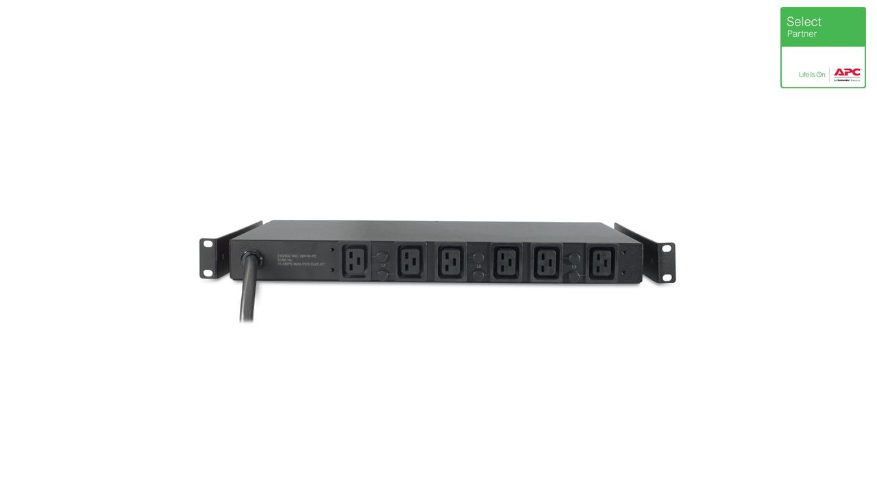 Rack PDU, Basic, 1U, 14.4kW, 208V, (6) C19 1