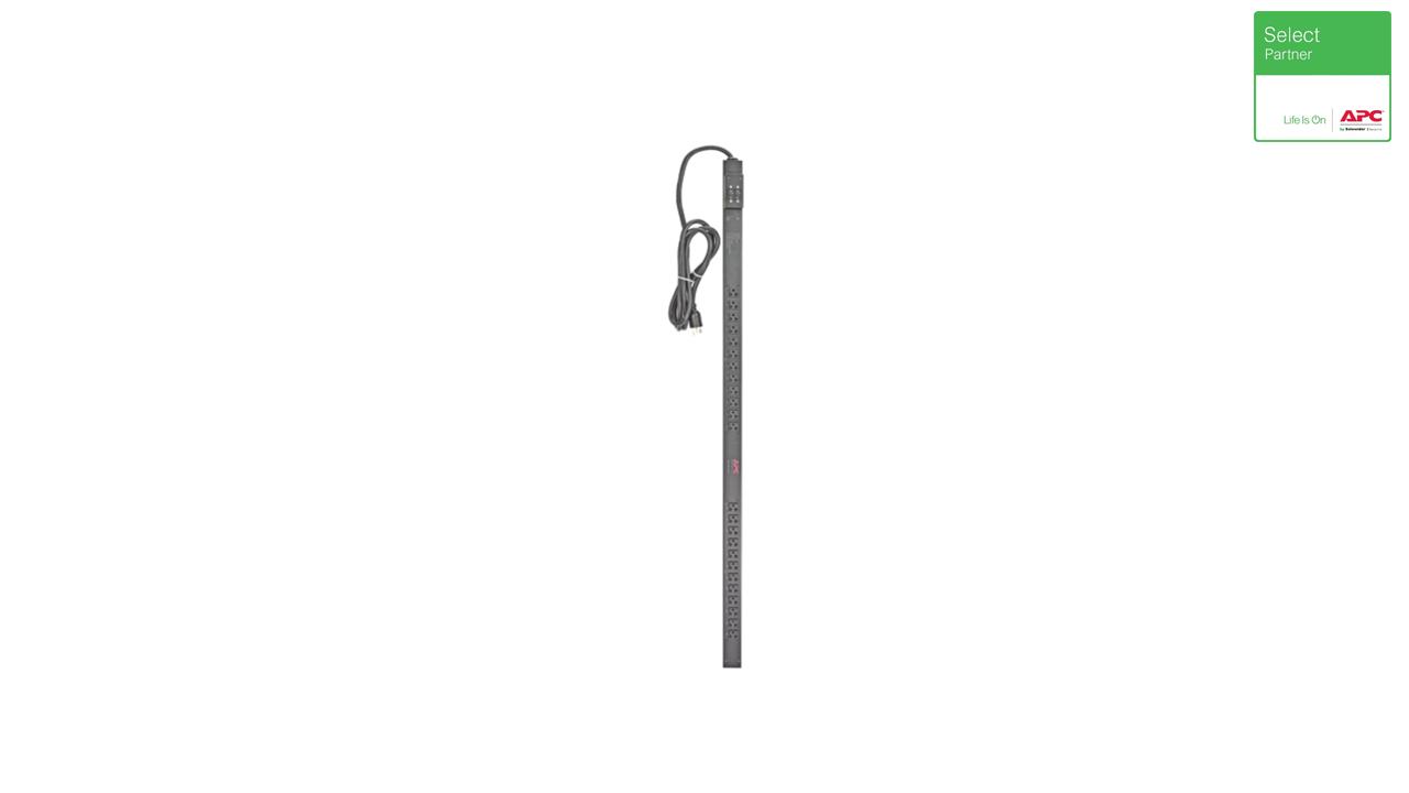 Rack PDU, Basic, Zero U, 30 A, 200 / 208 V, (20) C13 & (4) C19 1