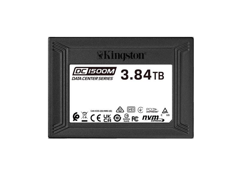 Kingston U.2 NVMe SSD 2.5'' DC1500M 4