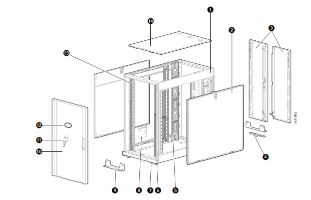 APC NetShelter SX 12U Server Rack Enclosure 3