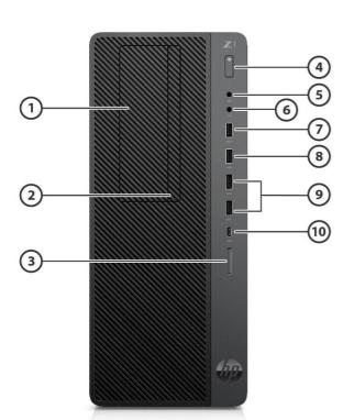 HP Z1 G5 Tower Workstation 3