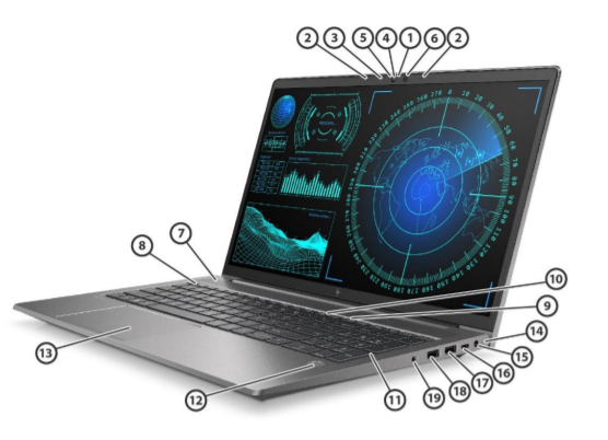 HP ZBook Power G7 Mobile Workstation 4