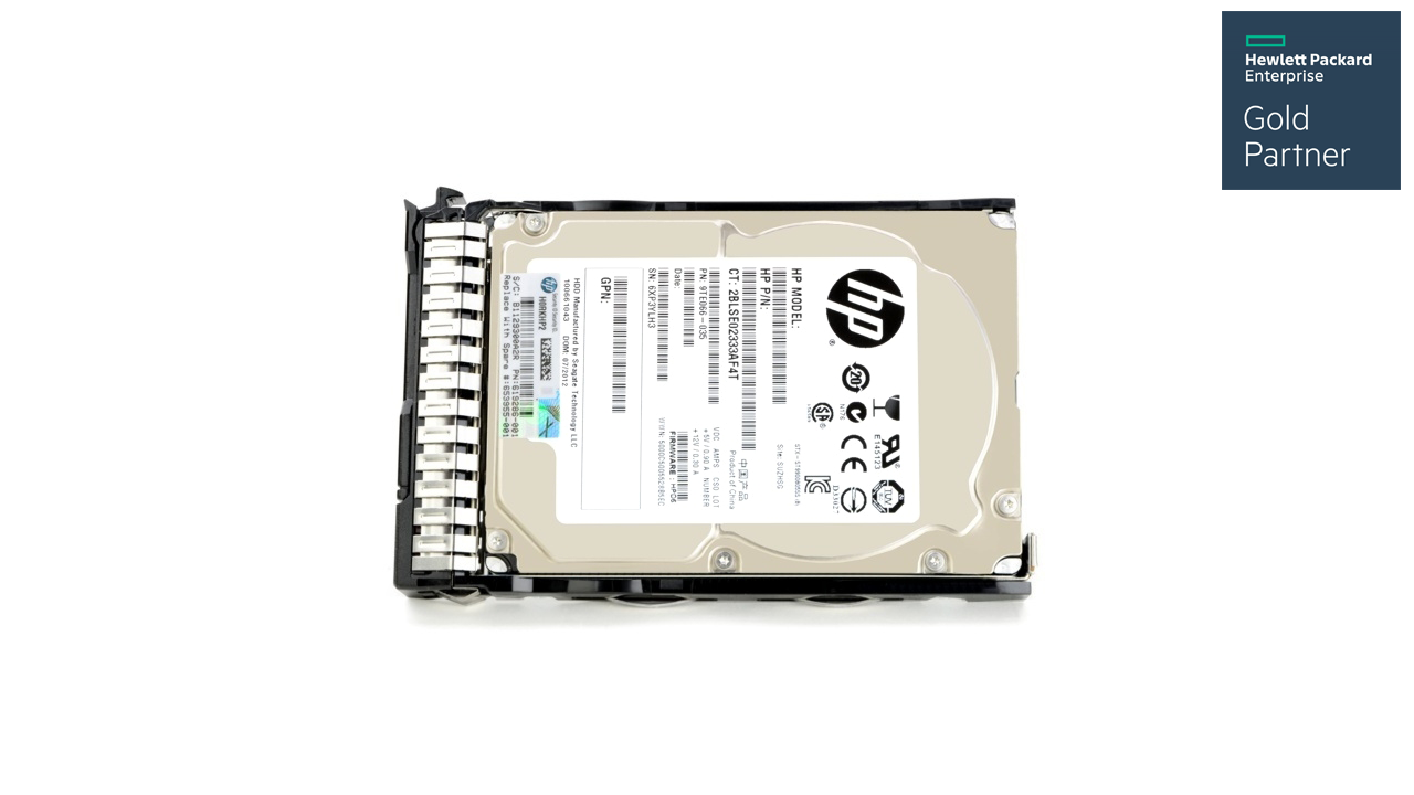 HPE 2.4TB SAS 12G 10K SFF (2.5in) SC Digitally Signed Firmware HDD 2