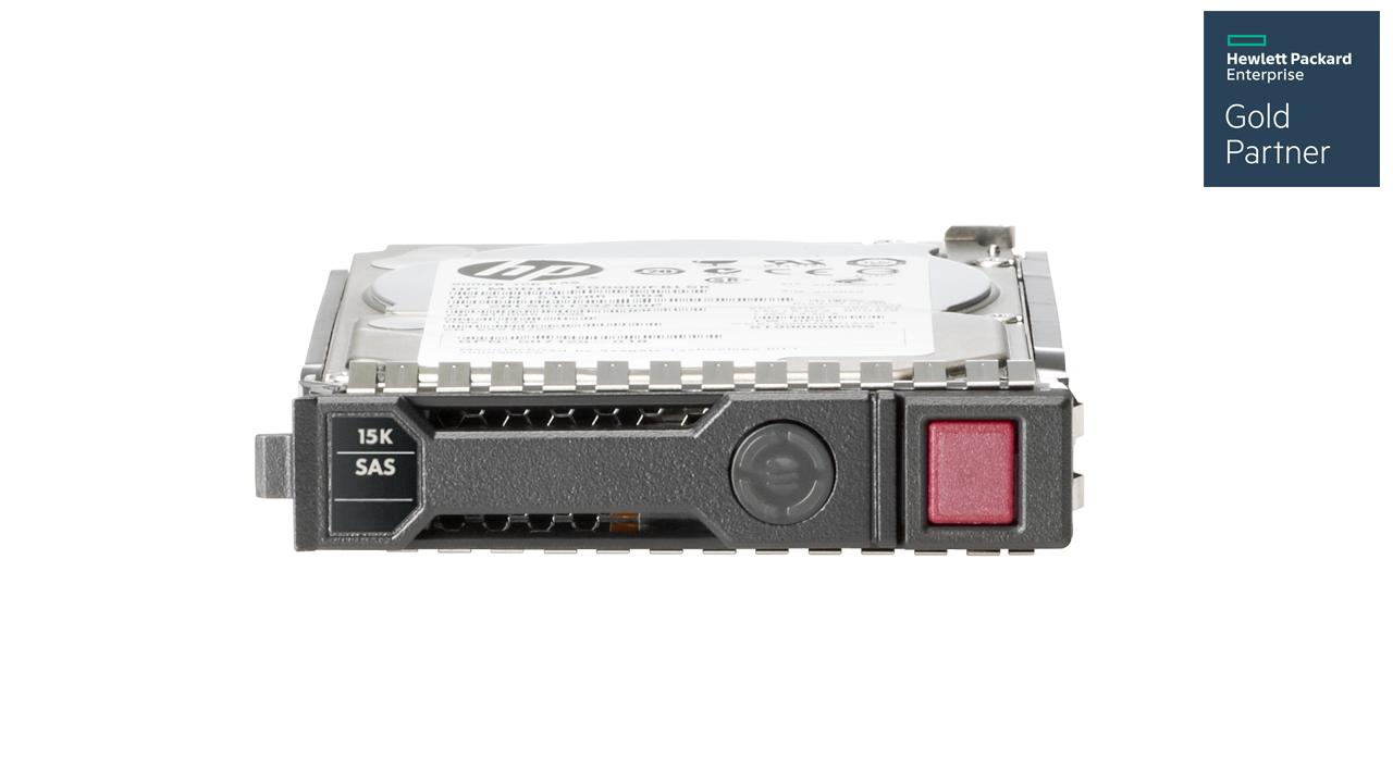 HPE 300 GB SAS 12G 15K SFF SC HDD 1