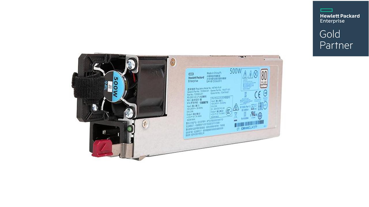 HPE 500W Flex Slot Platinum Hot Plug Low Halogen Power Supply kit For Gen10 2