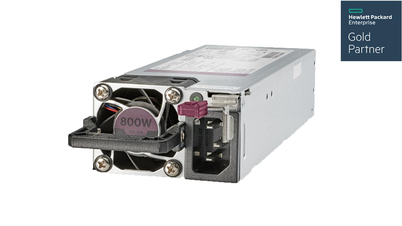 HPE 800W Flex Slot Platinum Hot Plug Low Halogen Power Supply kit For Gen10 1