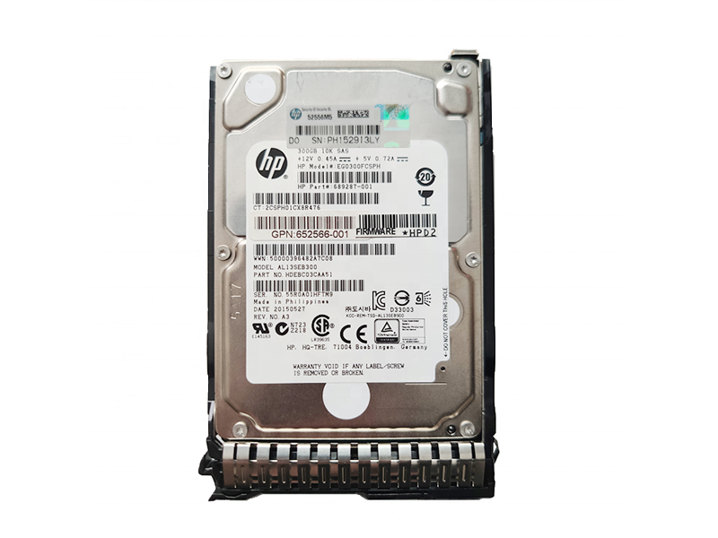 HPE 900GB SAS 12G 15K SFF (2.5in) SC Digitally Signed Firmware HDD 3