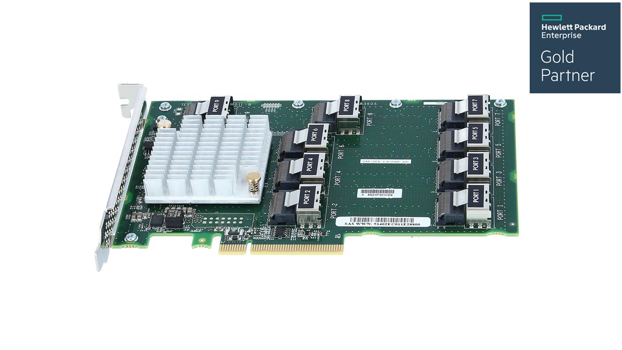 HPE DL38X Gen10 12Gb SAS Expander 1