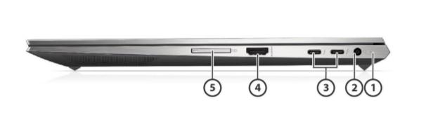 HP Zbook Studio G8 Mobile Workstation 5
