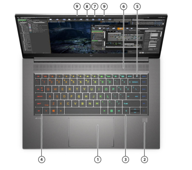 HP Zbook Studio G8 Mobile Workstation 3